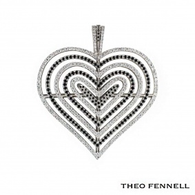 Theo Fennell White Gold Diamond Pendant 2.62ct